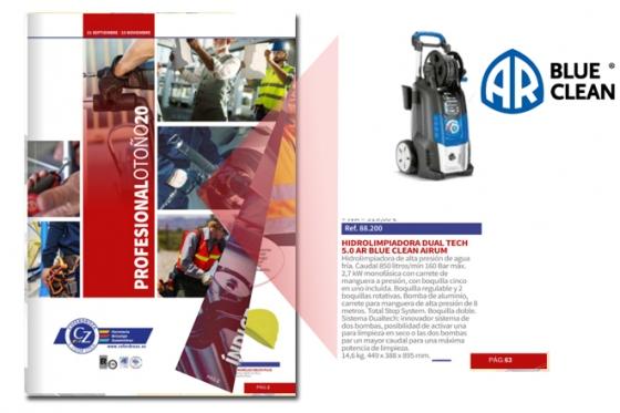 folleto coferdroza profesional otoño 2020 con hidrolimpiadora dual tech 5_0