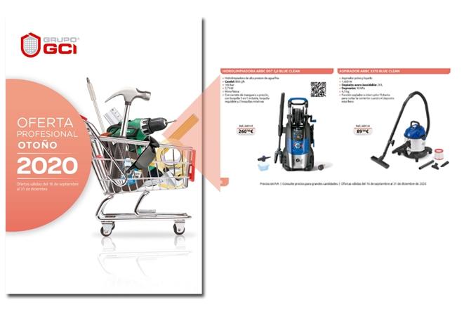 Nuevo folleto GCI otoño 2020 con AR blue clean 18