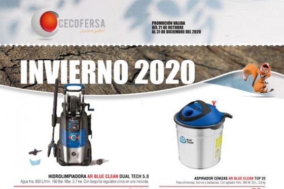 Nuevo folleto CECOFERSA INVIERNO 2020 CON AR BLUE CLEAN