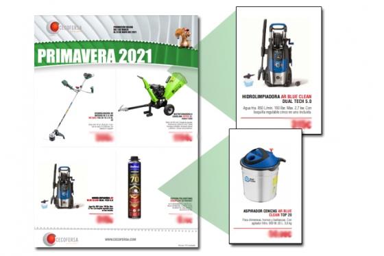 Nuevo folleto CECOFERSA PRIMAVERA 2021 CON AR BLUE CLEAN