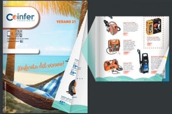 Nuevo folleto COOPERATIVA COINFER verano 2021