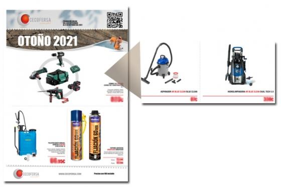 Nuevo folleto CECOFERSA OTOÑO 2021
