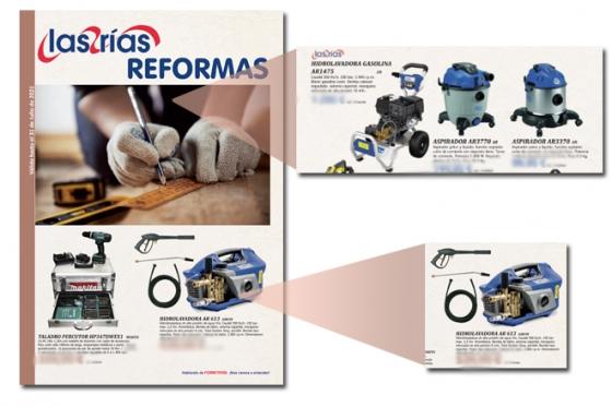 Nuevo folleto LAS RIAS REFORMA 2021 con AR Blue Clean