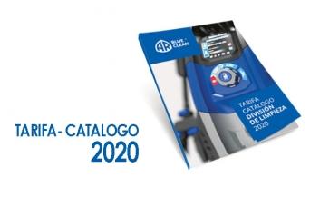 Nueva tarifa catalogo 2020